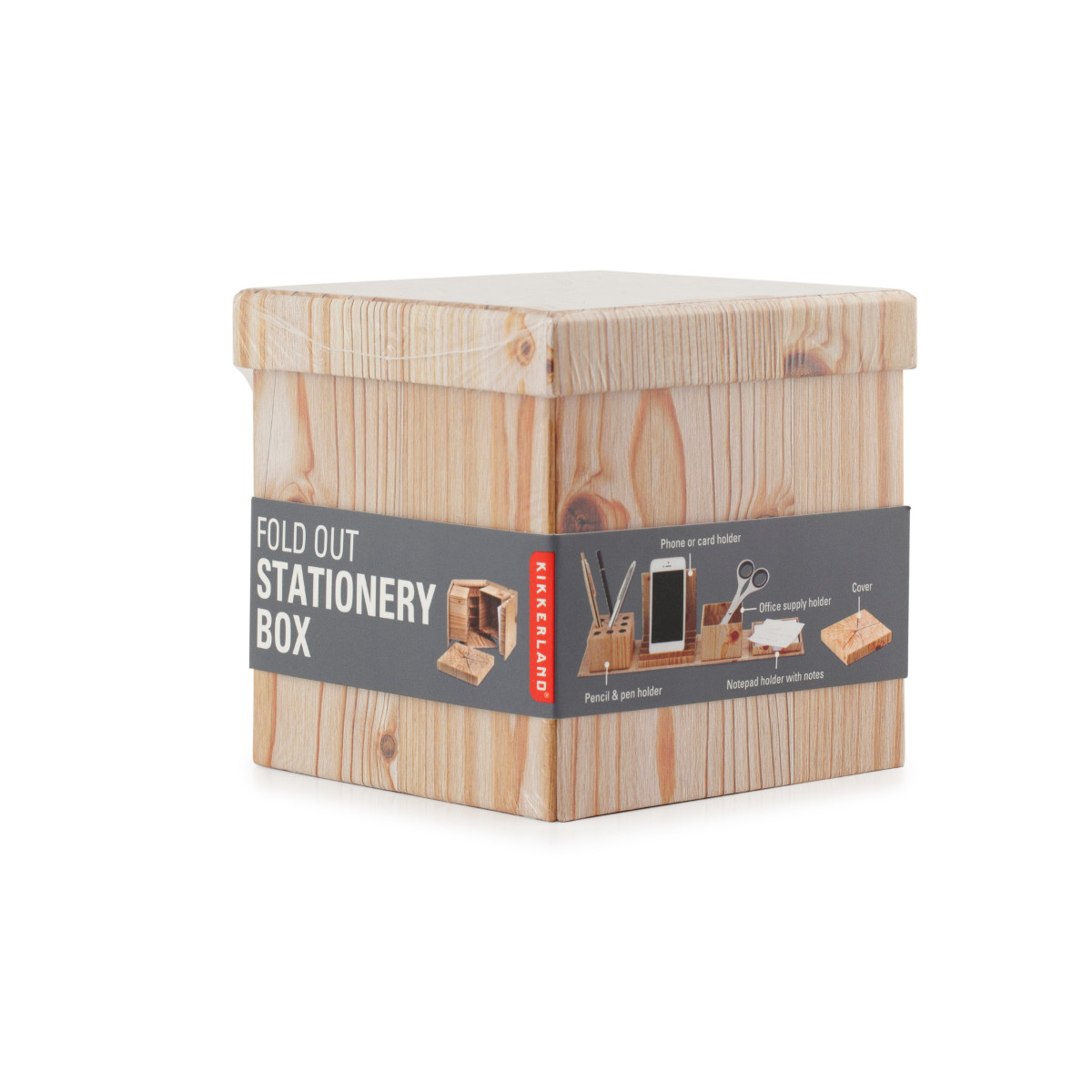Fold Out Stationery Box - Verpackung