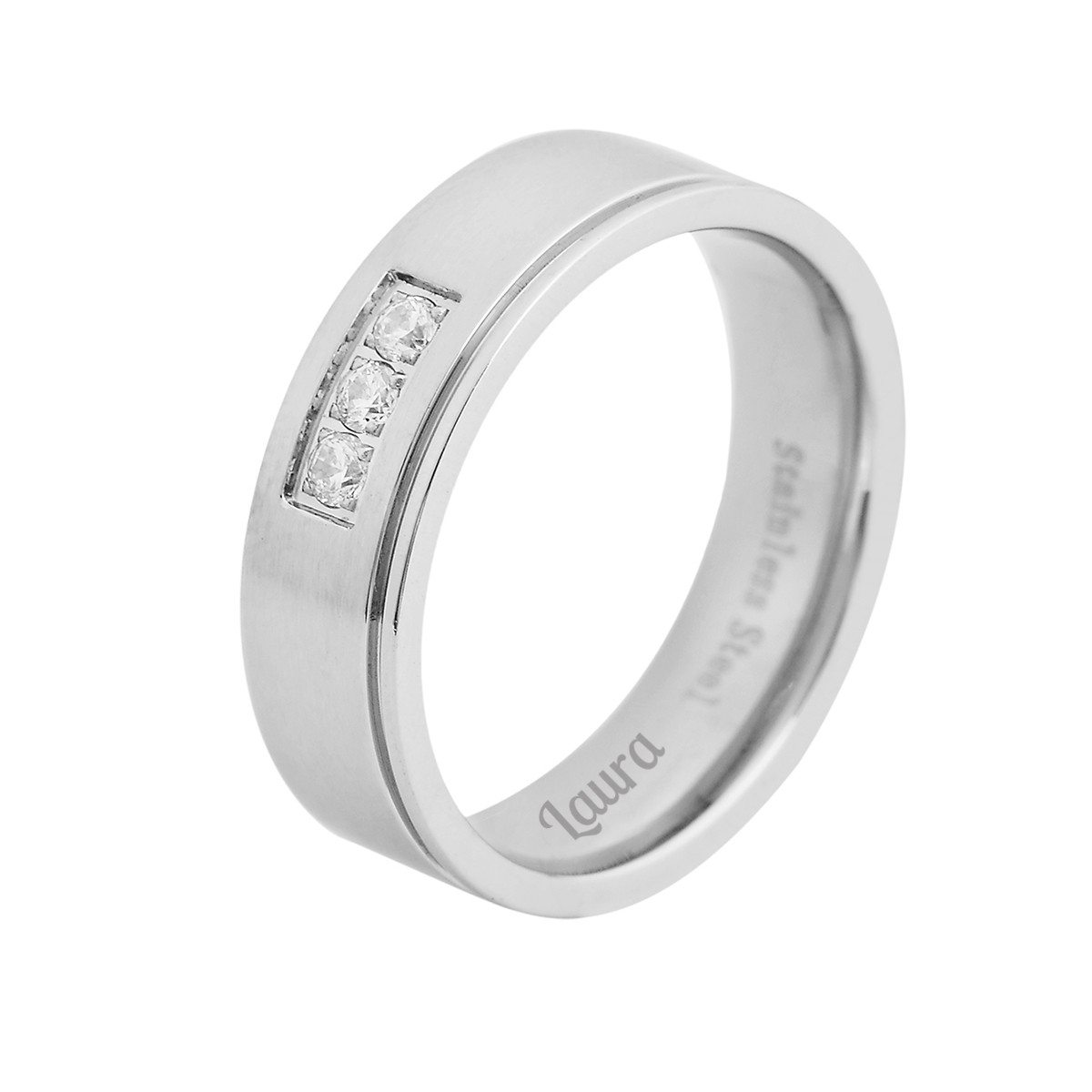 PERSONALIZED PARTNER RING WOMANS VERSION