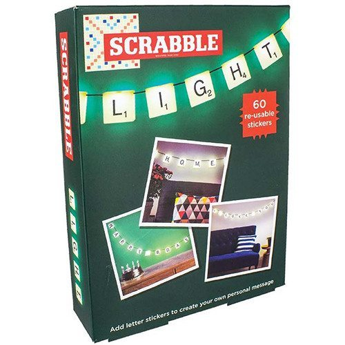 Scrabble-Lichterkette