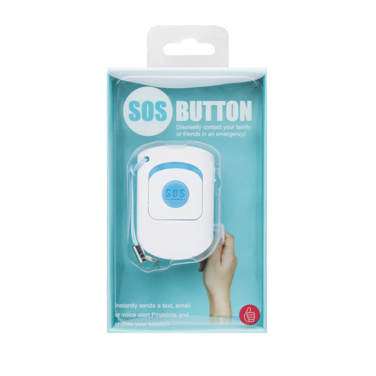 SOS Button - Smartphone Notrufknopf Verpackung