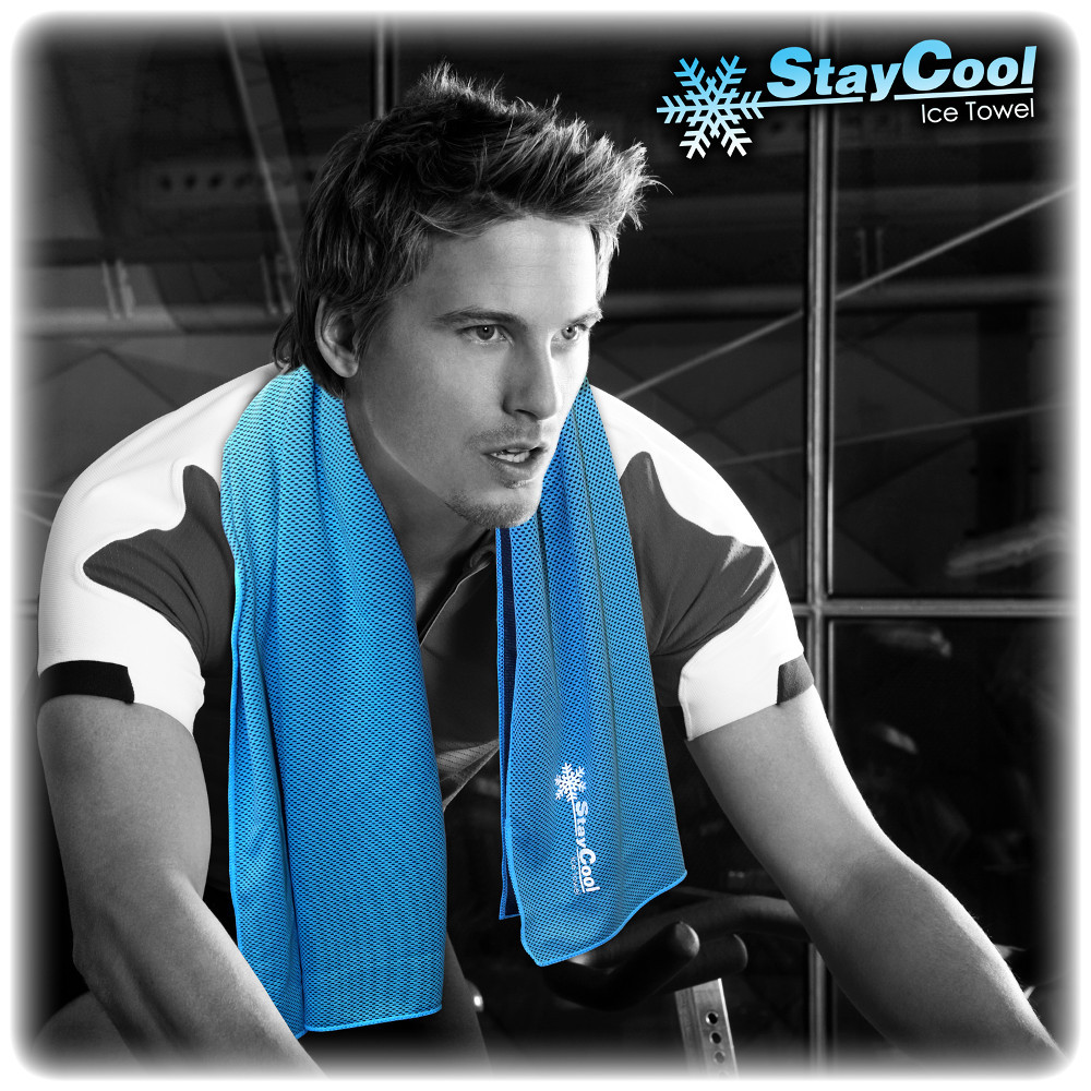 """""""Stay cool"""" - Eisiges Handtuch"""