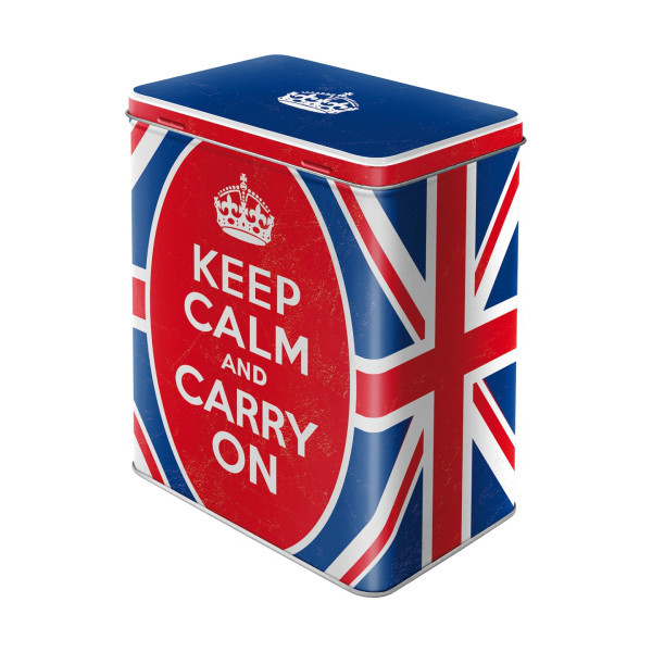 Vorratsdose Keep calm and carry on