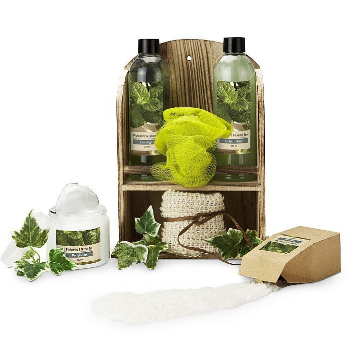 Geschenkset Wellness Green Power