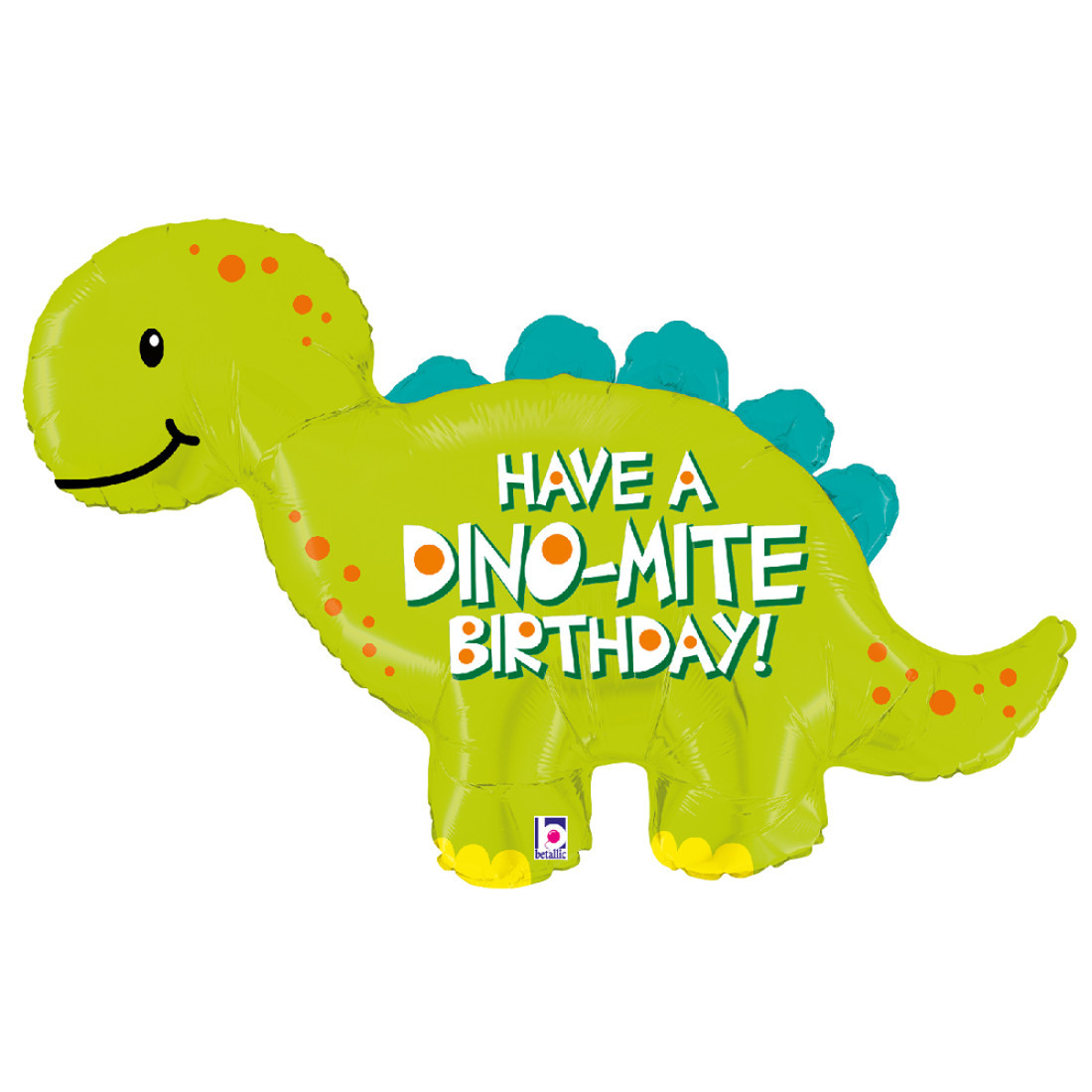 HAPPY BIRTHDAY DINO-MITE 114 CM /45""