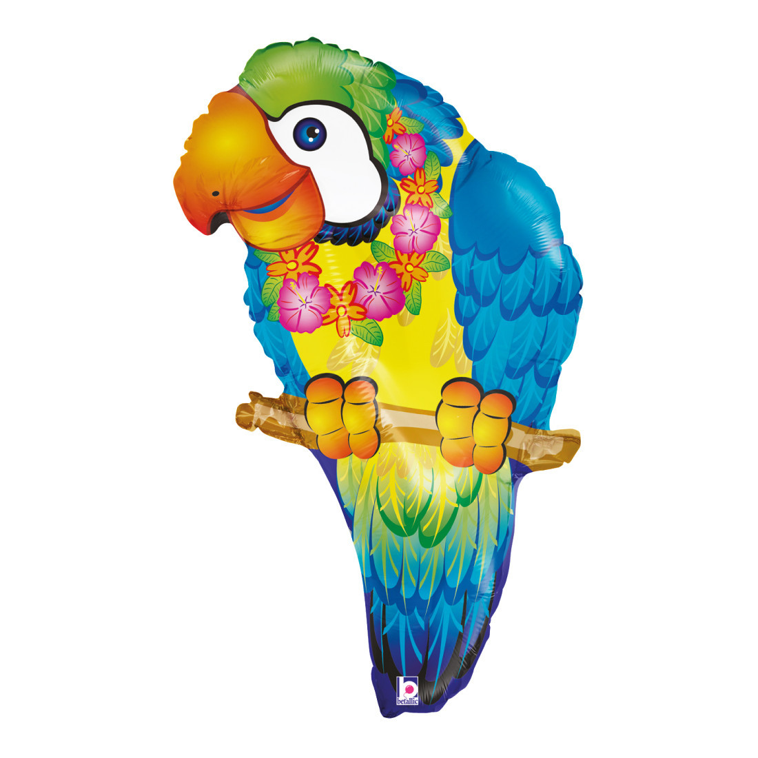 PAPAGEI 74 CM / TROPICAL PARROT 29""