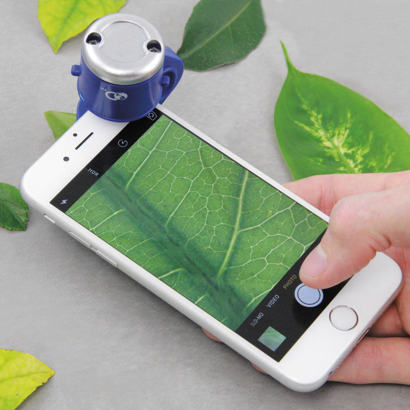 """Smartphone-Mikroskop """"Discovery Channel"""""""