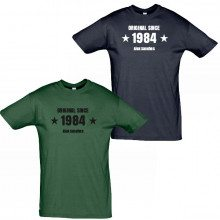 "Camiseta de hombre personalizable ""Original Since"""