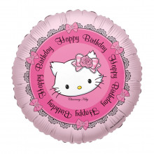"HELIUM-LUFTBALLON ""HAPPY BIRTHDAY"" MIT CHARMMY KITTY"