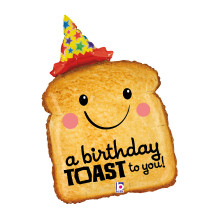 HAPPY BIRTHDAY TOAST TO YOU 81 CM/ 32""