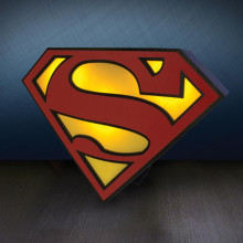 "Logo-Lampe ""Superman"""