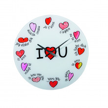 Wall clock I love you