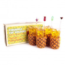 PINEAPPLE GLASSES 4 PACK