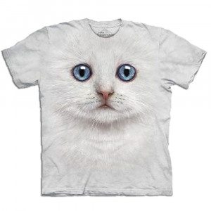 Big Face - Tier T-Shirts - Katze