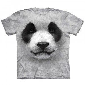 Big Face - Tier T-Shirts - Panda