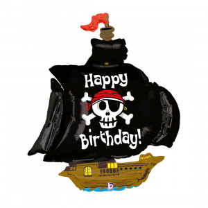 "HAPPY BIRTHDAY PIRATENSCHIFF 46"" / PIRAT SHIP 46"""