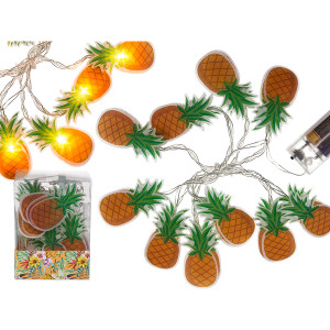 Lichterkette- Ananas mit 10 LED