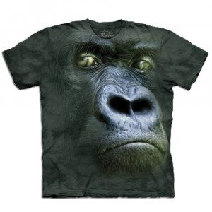 Camiseta Big Face 3D - Gorila - XL