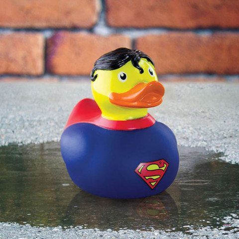 "Badeente ""Superman"""