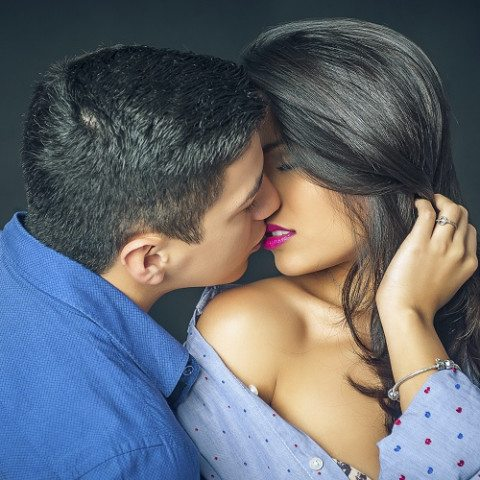Book de fotos para parejas en estudio - Barcelona
