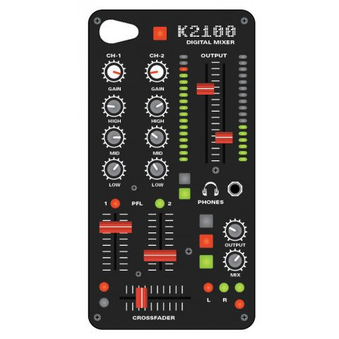 Carcasa de iPhone 4 - Mixer Audio