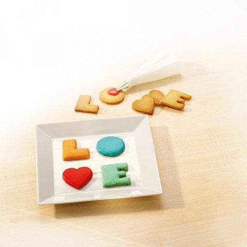 Moldes de galletas LOVE