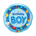 "Globo de helio ""Birthday Boy"""